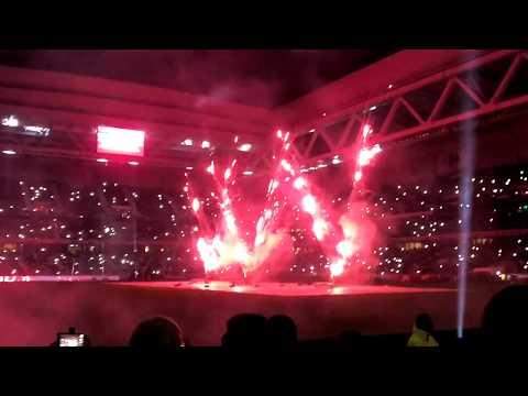 Feu d'artifice au Grand-Stade Lille Métropole