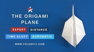 Fold 'N Fly ✈ The Origami Paper Airplane