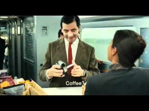 Mr  Bean speak French in Mr Bean's Holiday