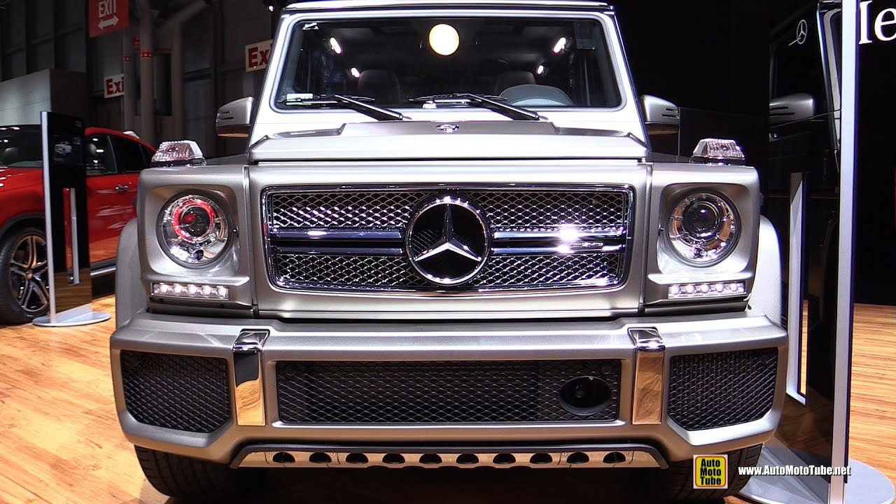 2015 mercedes benz g class g65 amg exterior and interior walkaround 2015 new york auto show youtube - Mercedes G Interior 2015