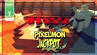 le jackpot de lucky blocks   pixelmon jackpot 7 minecraft modd pokmon