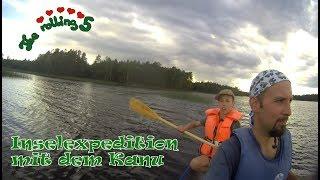 Inselexpedition mit dem Kanu