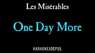 One Day More Les Miserables Authentic Orchestral Karaoke Instr…