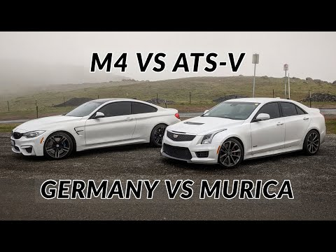 Cadillac ATS-V vs BMW M4 - Head to Head Review