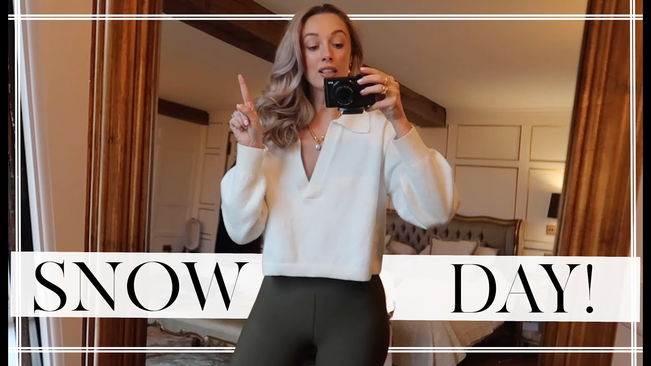 COTSWOLDS SNOW DAY & CHARLIE'S SUNDAY ROAST RECIPE! // Fashion Mumblr Vlogs