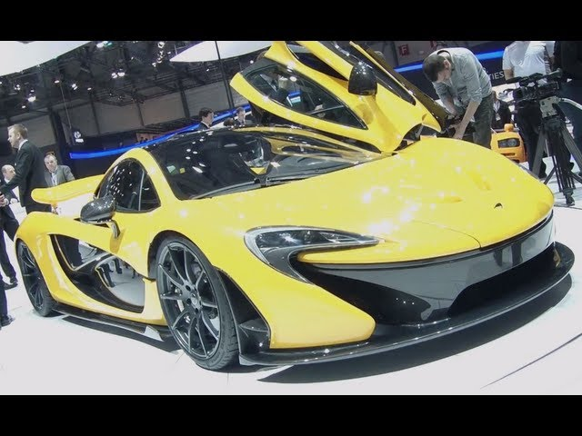 Genfer Autosalon 2013 - Die neuen Supersportler - Ferrari LaFerrari, Corvette Stingray, McLaren P1
