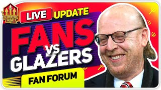 MAN UNITED FANS vs THE GLAZERS | LIVE Fan Forum Special