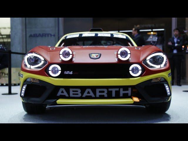 Presentazione Abarth 124 Rally - Davide Cironi Drive Experience