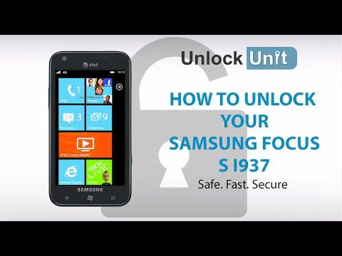 UNLOCK SAMSUNG FOCUS S I937 - HOW TO UNLOCK YOUR SAMSUNG FOCUS S I937