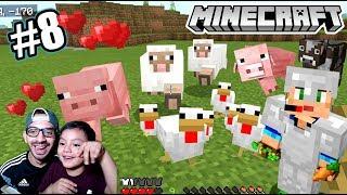 Mi Granja de Minecraft | Comida Infinita en Minecraft | Juegos Karim Juega