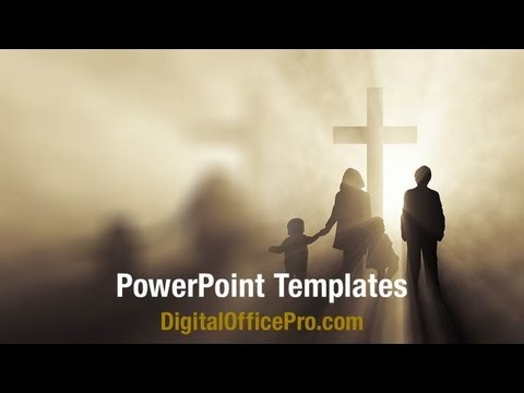 Holy Spirit PowerPoint Template Backgrounds