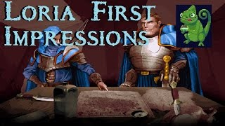Loria   Lets Play/gameplay   First Impressions/introduction