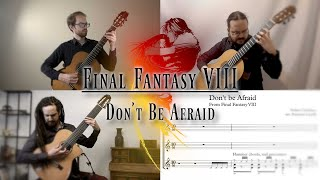 Final Fantasy 8 Music: Don't Be Afraid (Battle Theme) | Video Game Songs on Guitar