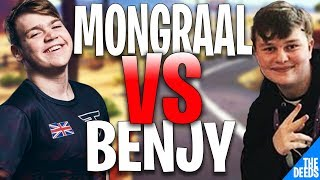 FaZe Mongraal 1 VS 1 NRG Benjyfishy | Fortnite Creative 1v1 *FAZE VS NRG*