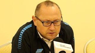 Marek Brakowiecki (B³êkitni Raci±¿) o meczu z Koron± Ostro³êka
