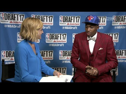 Exclusive Interview With Knicks' Pick Frank Ntilikina