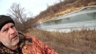 Открытие зимней рыбалки на реке