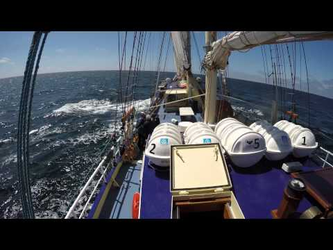 Kapitan Borchardt -Tall Ships Regatta 2015   4K  video
