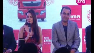 Preity Zinta lashes out at the media at KXIP Jersey Launch