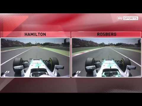 Mercedes' Lewis Hamilton and Nico Rosberg's crash analysed