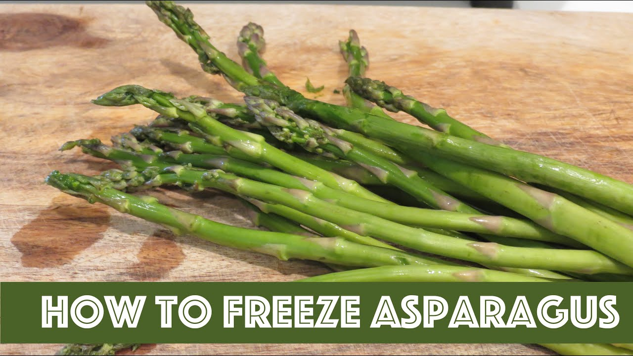 how to freeze asparagus the frugal chef - Can I Freeze Kale