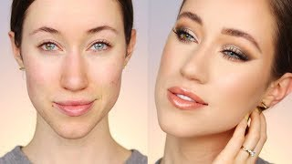 ALL Drugstore Neutral Glam Makeup Tutorial