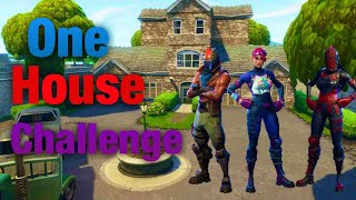 One house only challenge (Fortnite battle royale)