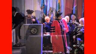 Christine Spadafor Receives Doctor of Humane Letters Honorary Degree