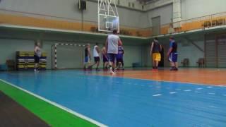 Новая Каховка тренировка баскетбол 13.07.2017 (2 часть)
