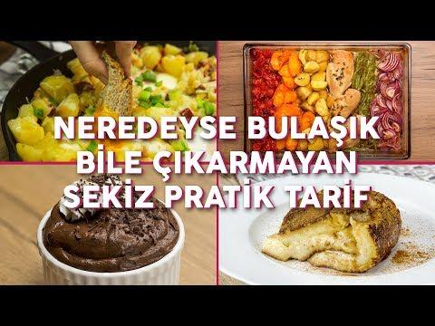 Neredeyse Bulaşık Bile Çıkarmayan 8 Pratik Yemek Tarifi (Seç Beğen!) | Yemek.com