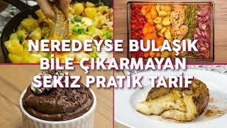 Gambar cover Neredeyse Bulaşık Bile Çıkarmayan 8 Pratik Yemek Tarifi (Seç Beğen!) | Yemek.com