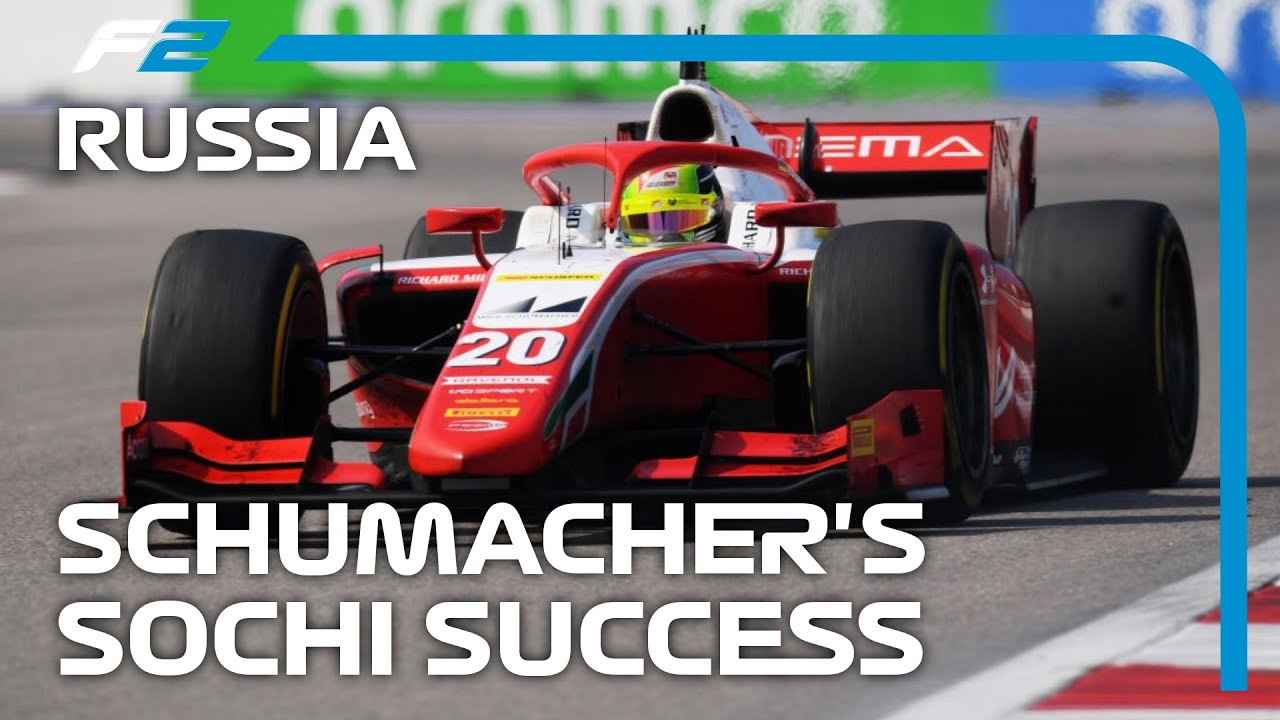 F2 EXCLUSIVE: Schumacher Wins the Feature Race! | 2020 Russian Grand Prix
