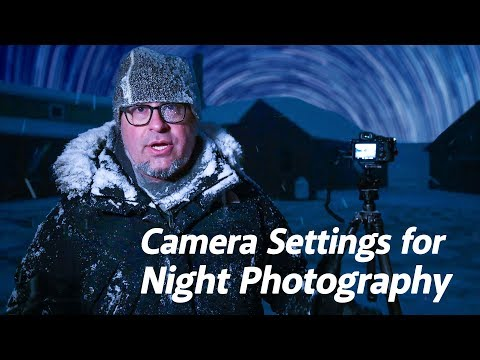 Night Photography Series | Camera Settings for Night Photography
