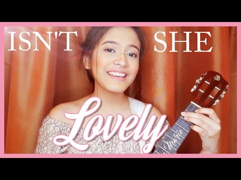 Selena Marie - Isn't She Lovely (ukulele cover)