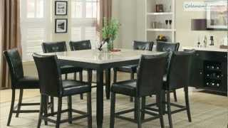 Anisa Counter Height Dining Room Collection From Coaster Furniture