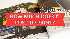 How Much Does It Cost To Print Magazines?
