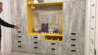 Мебель в детскую своими руками из Дсп EGGER . Направляющие GTV . Стеновые панели из дсп .