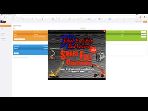 Steel Erection Bid Wizard Smart Fuel Calculator