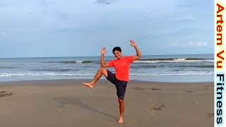 7 minutes Bodyweight Workout for Beginners NO EQUIPMENT ArtemVuFitness Fitness at Home for Beginners