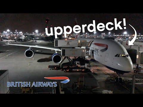 BA   Economy Upperdeck A380   BA031   LHR-HKG   Flight review