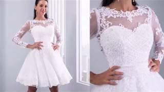 7 Свадебное платье с Алиэкспресс AliExpress Wedding gown Модные стильные вещи Наряды на свадьбу