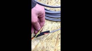 греющий кабель как подключить - смуфтить своими руками