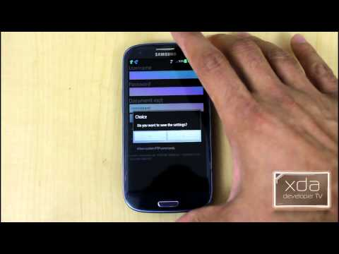 Run a FTP Server on Android with FTP Server Ultimate -- App Review