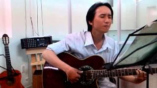 Guitar Tình yêu trả lại trăng sao - Bolero - Đinh Ngọc Huy - Lớp nhạc dấu chấm đen Thủ đức