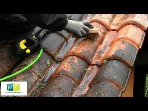 Traitement de toiture sur tuiles redland par uab renova doovi - Peinture tuile beton redland ...