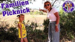 GROßES FAMILIEN PICKNICK , SPAß und HAMAM Bad - VLOG   Family Fun