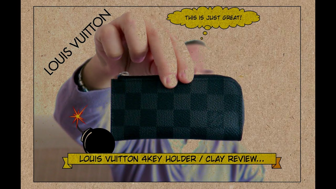 3bc7b860ec53 Louis Vuitton - 4 KEY Holder   Clay - Unboxing