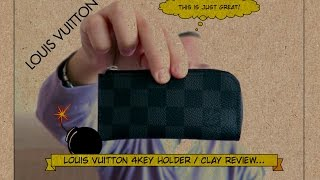 Louis Vuitton - 4 KEY Holder / Clay - Unboxing, Comparison and Review