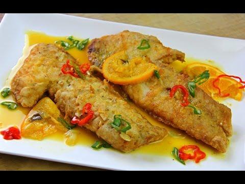 Fried Snapper In A Zesty Orange Ginger Sauce | CaribbeanPot Com
