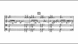 Béla Bartók - String Quartet No. 4 [3/5]